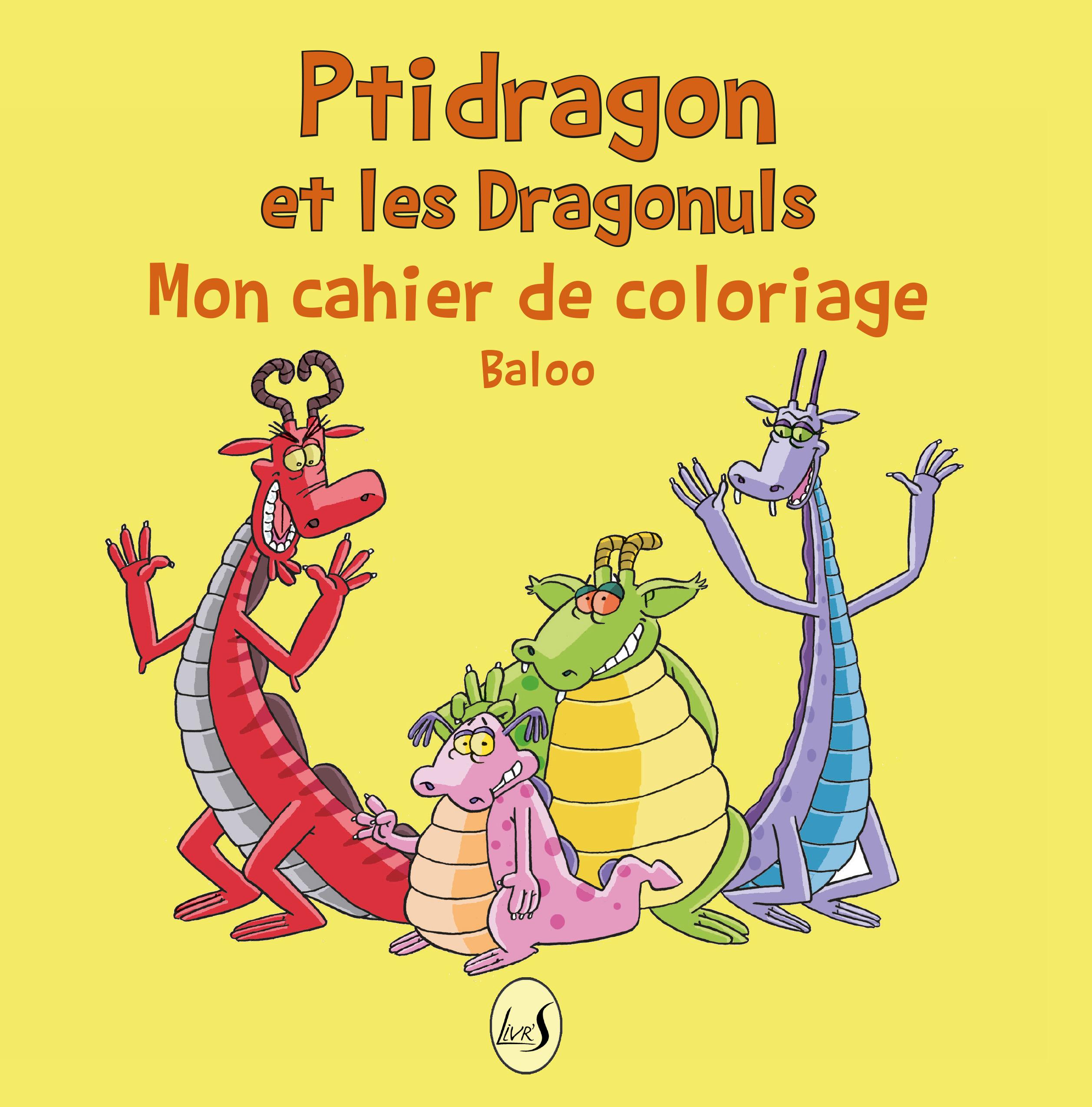 Pridragon et les dragonuls coloriage